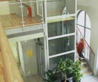 Elevador Modelo Cabina Vidriada 2