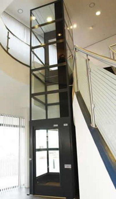 Elevador Modelo Cabina Vidriada 3